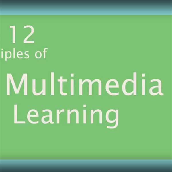 12 Principles of Multimedia | Educational Video