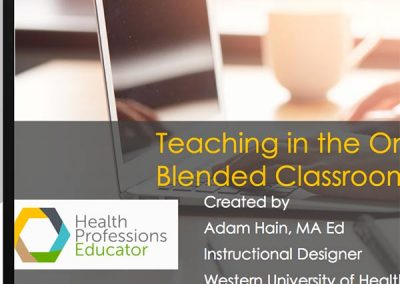 Introduction to Teaching Online | eLearning Module